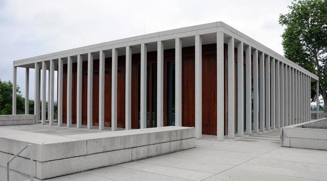 Moderne Architektur für die Literatur