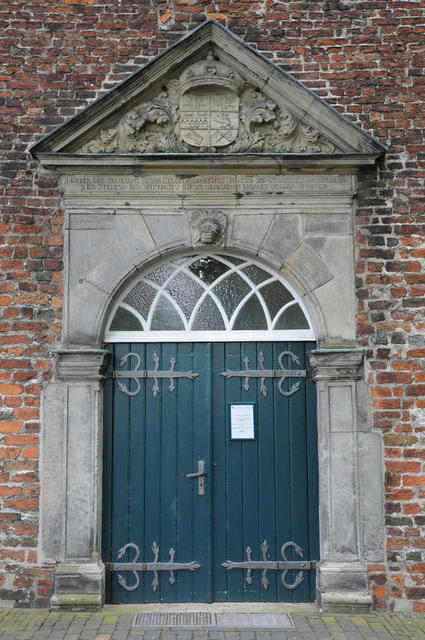 Tür der Lutherkirche