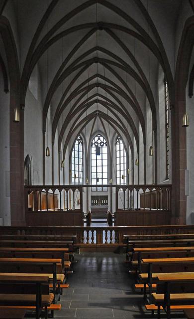 Innenraum der Kirche Mariawald