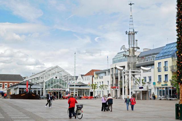 Marktplatz in  Aurich