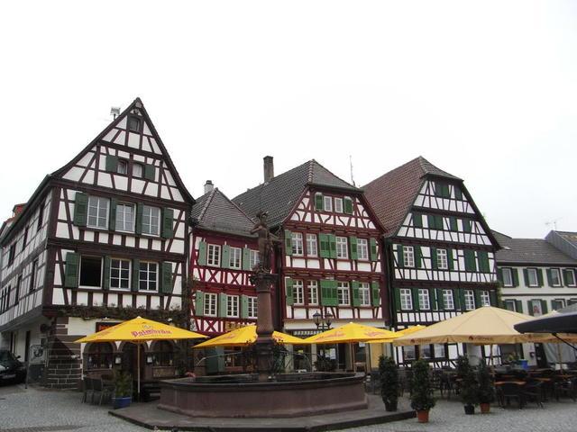 Marktplatz in Bretten