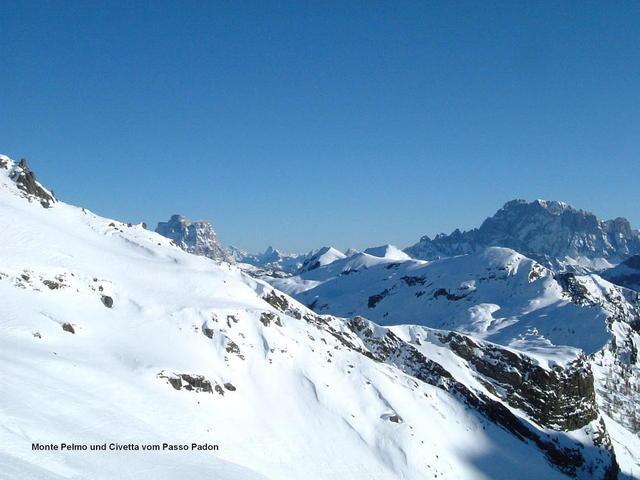 Monte Pelmo und Civetta