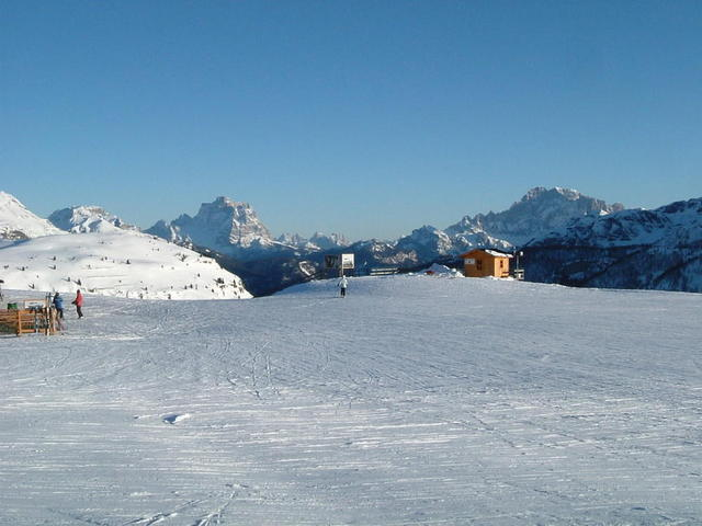 Monte Pelmo vom Bec de Roces