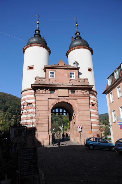 Das Neckartor in Heidelberg