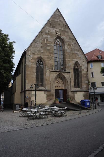 Die Nikolaikirche in Reutlingen