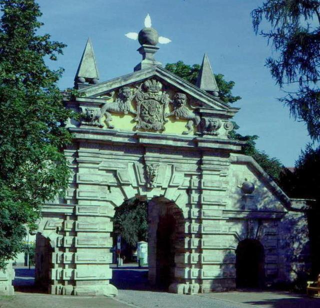 Das Nürnberger Tor in Forchheim