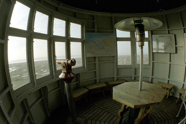 Im Obgergeschoss des Pilsumer Leuchtturms