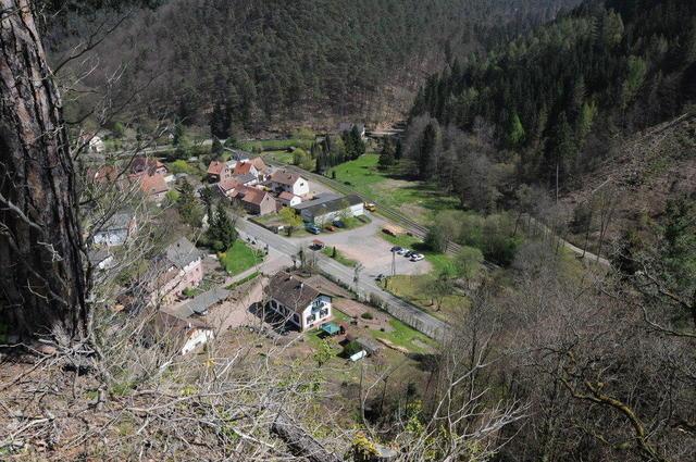 Die Ortschaft Erfenstein
