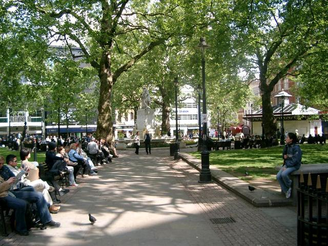Parkszene in London
