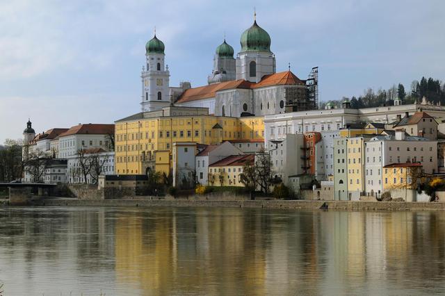 Passaus Altstadt mit Dom