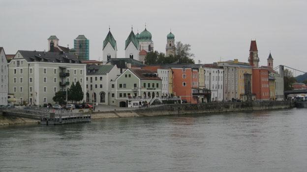 """Passau - die """"schwimmende Stadt"""""""
