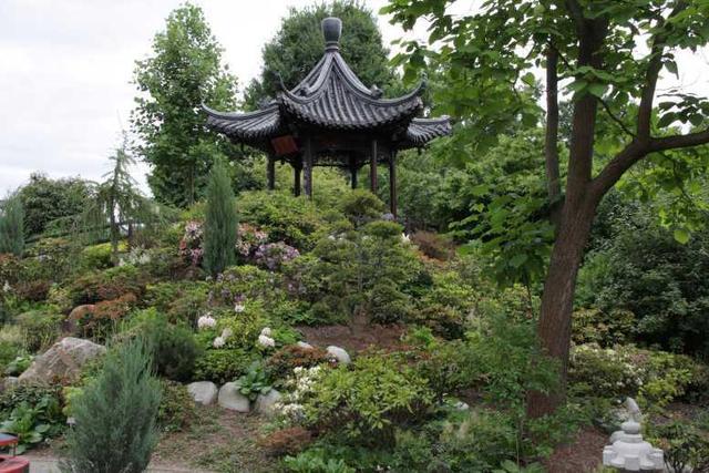 Am chinesischen Pavillon