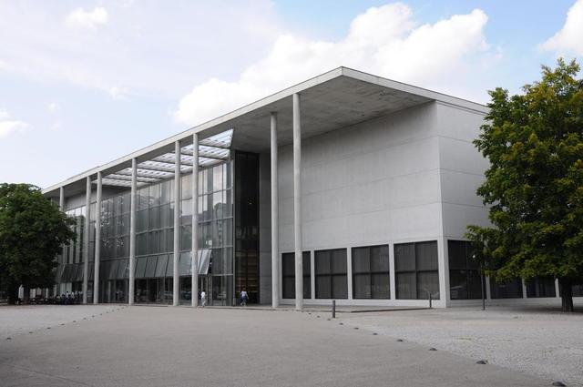 die Pinakothek der Moderne auf dem Kunstareal
