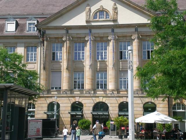 Die Postgalerie in Karlsruhe