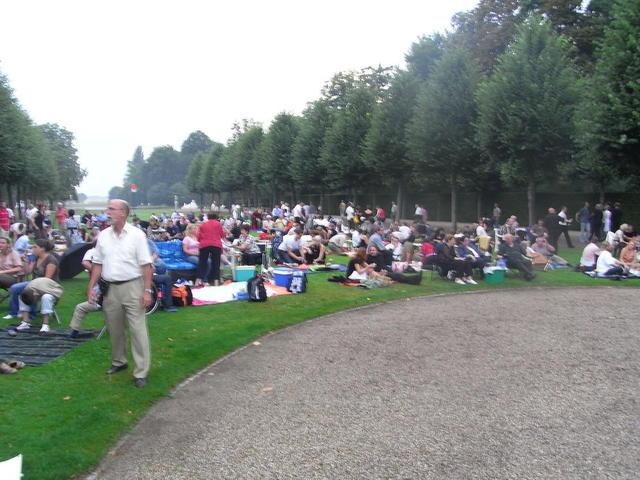 Veranstaltung im Schlosspark Schwetzingen
