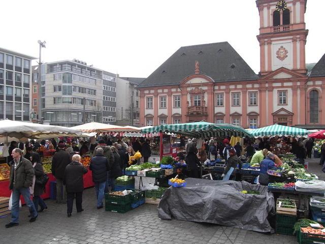 Mannheimer Wochenmarkt