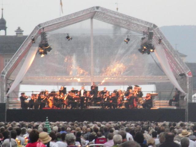 Parkbühne beim Schwetzinger Mozart-Sommer