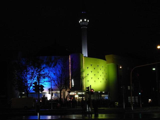 Die Moschee in der Langen Nacht der Museen