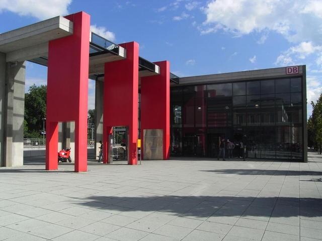 Bahnhof im Memmingen