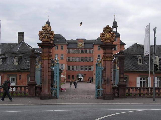 Pforte zu Schloss Schwetzingen