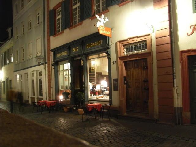 Romantisches Café Burkhardt