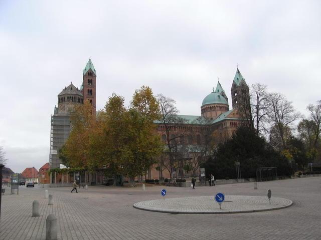 Seitenansicht des Domes zu Speyer