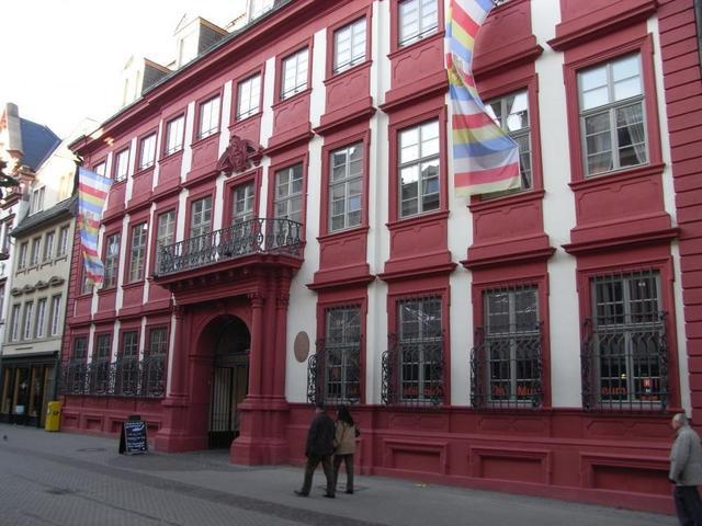 Der Eingang zum Kurpfälzischen Museum