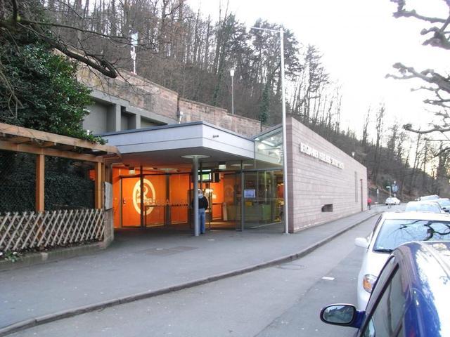 Schloss-Station der Bergbahn Heidelberg