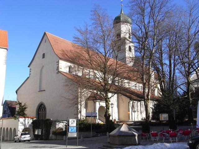 die Nicolaikirche in Isny