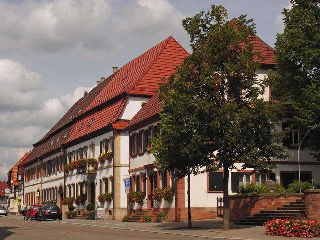 Häuser in Rheinzabern