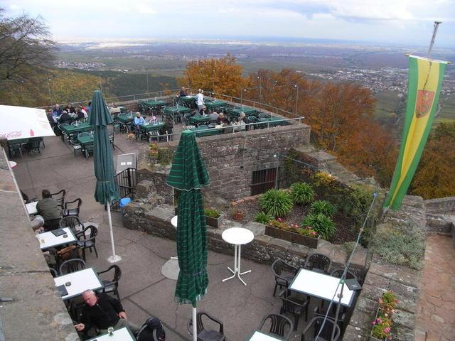 Die Höhengaststätte auf der Rietburg