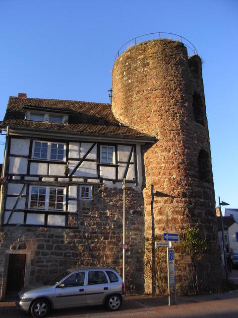 Der Rosenturm in Eberbach
