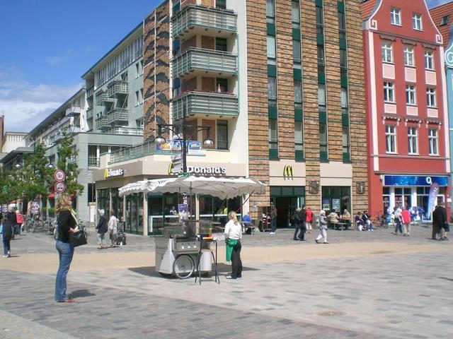 Rostocks Fußgängerzone