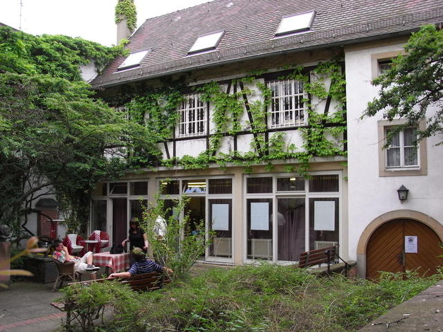 Hof des Schillerhauses