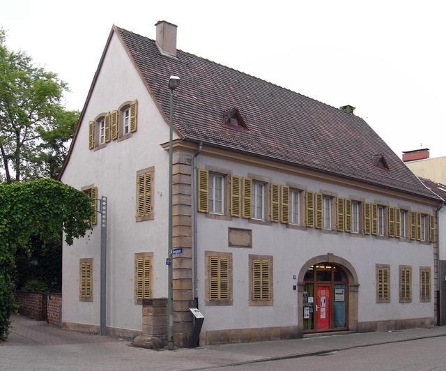 Das Schillerhaus in Oggersheim