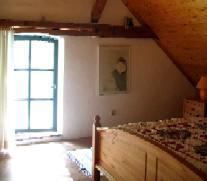 Schlafzimmer FeWo Rutenmühle 8 Christa und Rüdiger Winter