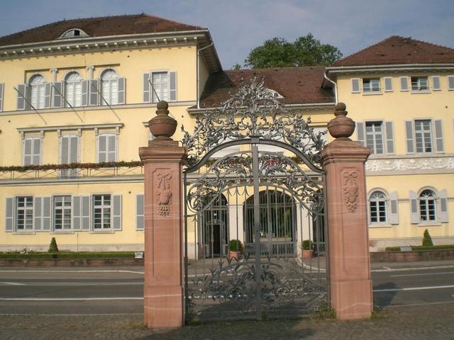Das Schloss in Neckarhausen