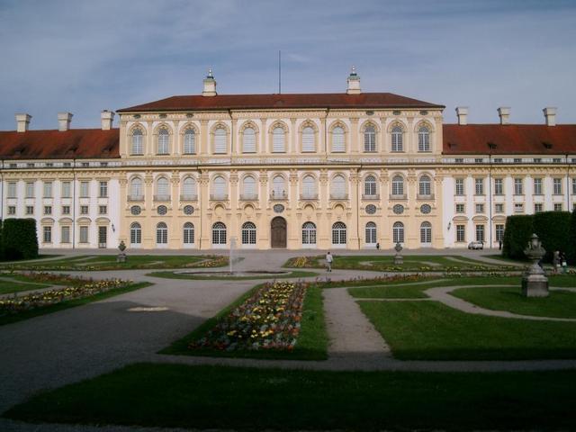 Das Schloss in Oberschleißheim