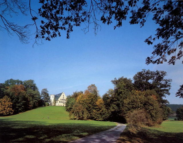 Das Schloss Rosenau in Coburg
