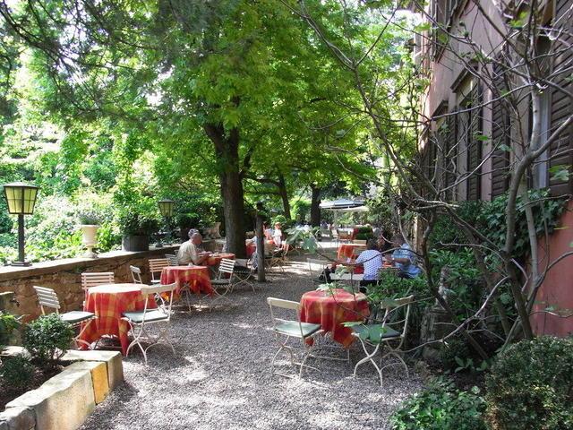 Die Schlossgarten-Terrasse