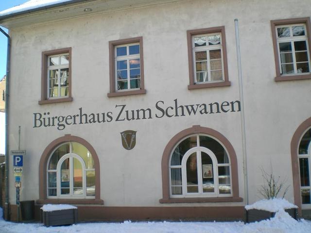 Das Bürgerhaus zum Schwanen in Neckarsteinach