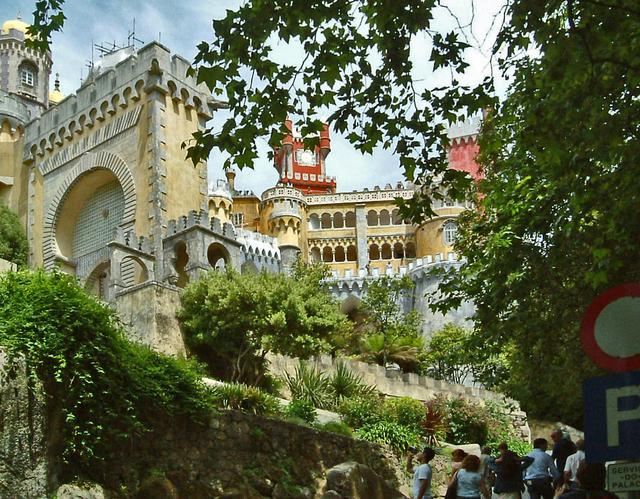 Sintra, malerisches Palacio da Pena