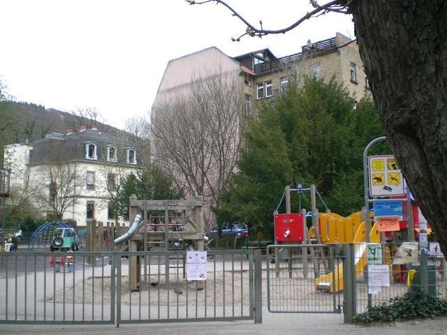 Spielplatz im Plöck in Heidelberg