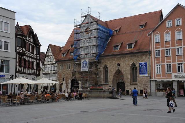 Spitalhof und Spitalkirche