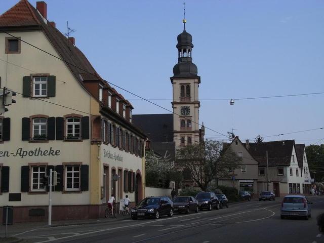 Die katholische St. Ägidiuskirche in Seckenheim