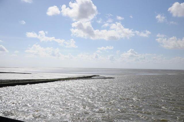 Blick auf die Nordsee bei St. Peter-Ording