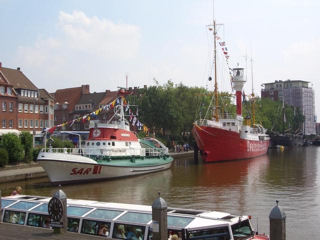 Start der Hafenrundfahrt