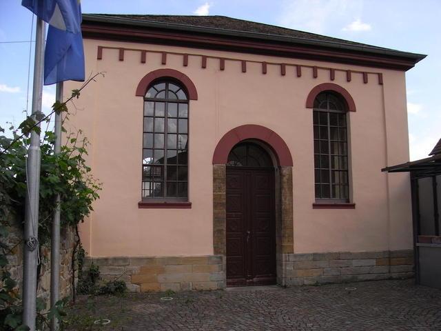 Die Synagoge in Deidesheim