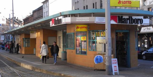 Der Tattersall-Kiosk