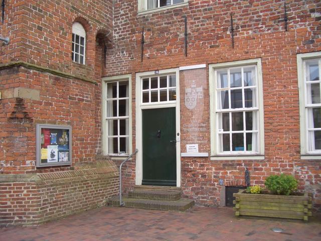 Eingang zum Teemuseum in Norden